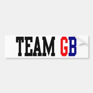 Olympia Team GBs London Autoaufkleber