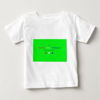 olympisches Schwimmteam Vereinigter Staaten Baby T-shirt