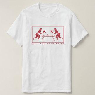 Olympisches Tischtennis-lustiges Sport-Wortspiel T-Shirt