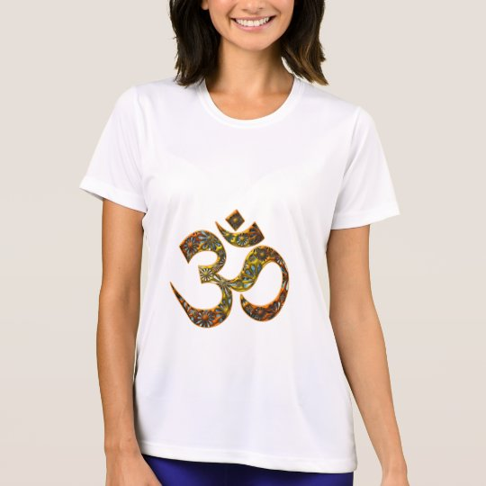 OM (AUM - ICH BIN) - Muster T-Shirt