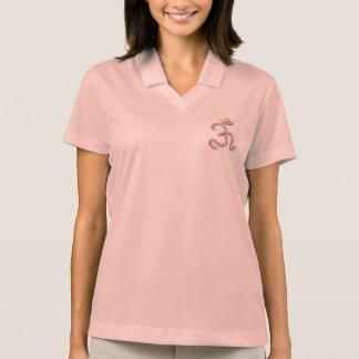 OM-Beschwörungsformel für viel Glück Polo Shirt