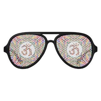 OM-Beschwörungsformel-Juwel-Sammlung Piloten Sonnenbrillen