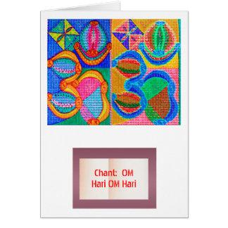 OM-Beschwörungsformel-Matrix: Anzeige n geben weg Karte