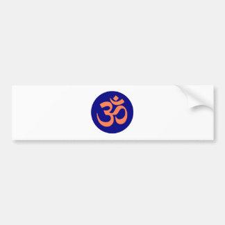 OM-Beschwörungsformel-Yoga Autoaufkleber