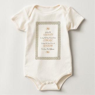 OM Bill W SERENITY Gebet Baby Strampler