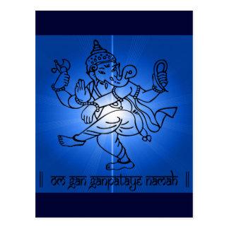 OM-Gan-Ganpataye-Namah Postkarte