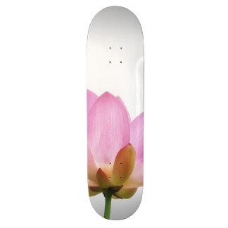 OM-Lotos-Rosa-Blumen-Blumenblätter Skateboardbretter