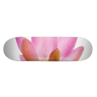 OM-Lotos-Rosa-Blumen-Blumenblätter Individuelle Skateboarddecks