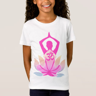 OM-Lotos-Yoga-Pose T-Shirt