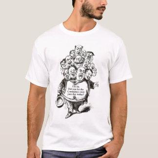 OM-Na - Ausschuss-Anfang Ihr Tag für Sie? T - T-Shirt