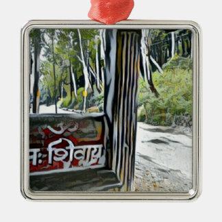 OM Namah Shivay Silbernes Ornament