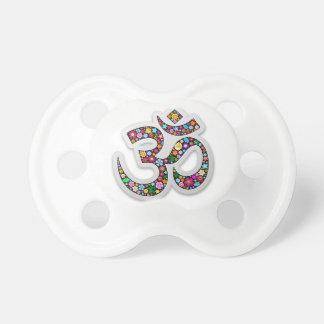 OM-Ohm-Om Namaste Yoga-Symbol Baby Schnuller