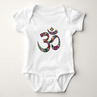 OM-Om Namaste Yoga-Symbol Baby Strampler