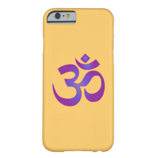 OM-Om-rosa und lila Zen-Yoga-Meditations-Symbol Barely There iPhone 6 Hülle