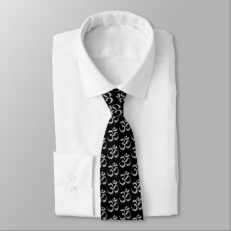 OM-Om-Yoga-Symbol-Fitness Krawatte