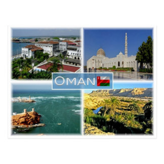 OM Oman - Postkarte