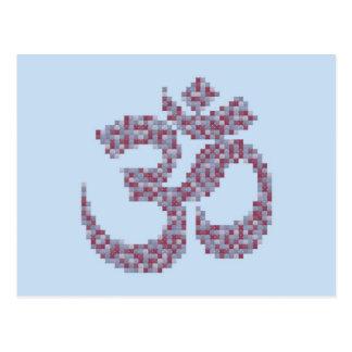 OM-Symbol Postkarte