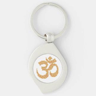 OM-Symbol Schlüsselanhänger