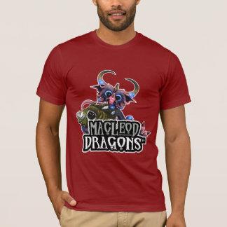 OM T - Shirt, Moosbeere Drache MD Cuddlefish T-Shirt
