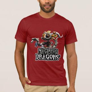 OM T - Shirt, Moosbeere Drache MD Steampunk T-Shirt