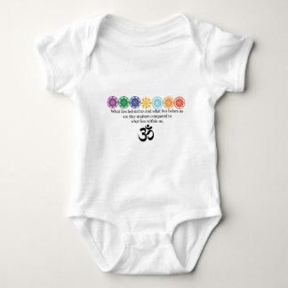 OM-Yoga-T-Stück Baby Strampler