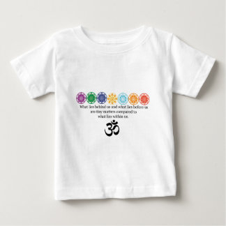OM-Yoga-T-Stück Baby T-shirt
