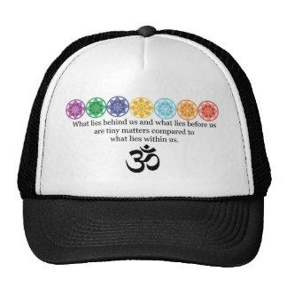 OM-Yoga-T-Stück Kappen