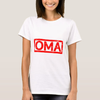 Oma Briefmarke T-Shirt