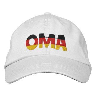 OMA gestickte Kappe