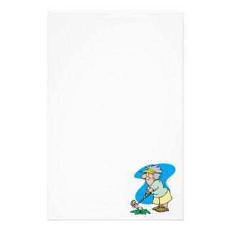Oma-Golfspieler Briefpapier