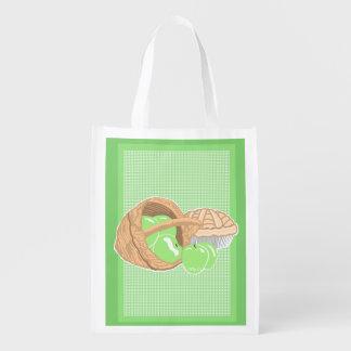 Oma-Smith-Apfel-Grün-wiederverwendbare Wiederverwendbare Einkaufstasche