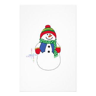 Oma Snowma Druckpapier