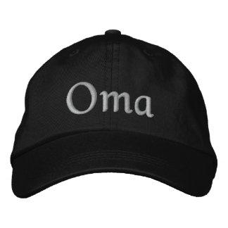 Oma stickte Kappe Bestickte Mützen