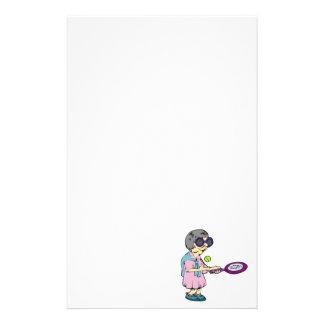 Oma-Tennis Briefpapier