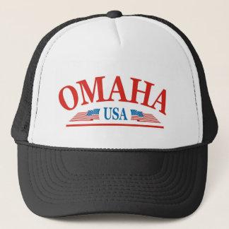 Omaha Nebraska USA Truckerkappe