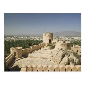 Oman, die Batinah Ebene, Nakhal. Nakhal Fort, an Postkarte