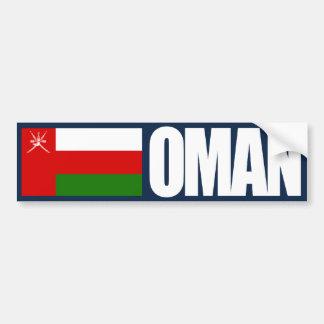 Oman-Flagge Auto Aufkleber