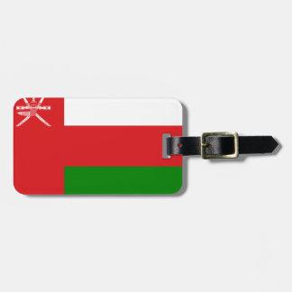 Oman-Flagge Gepäckanhänger