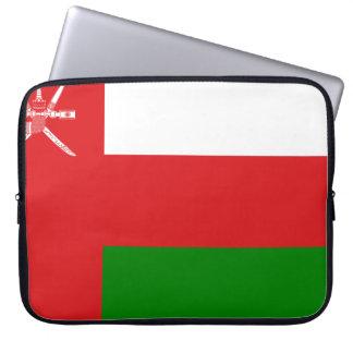 Oman-Flagge Laptop Sleeve