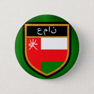 Oman-Flagge Runder Button 5,1 Cm