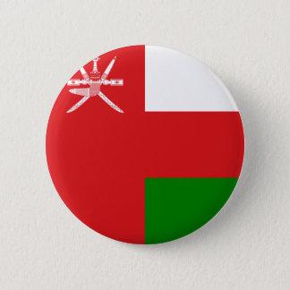 Oman-Flagge Runder Button 5,7 Cm