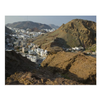 Oman, Muscat, Ruwi/Al Hamriyah. Ansicht von Ruwi/ Postkarte