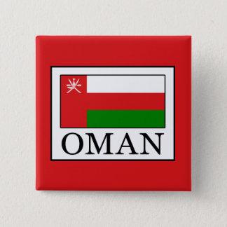 Oman Quadratischer Button 5,1 Cm