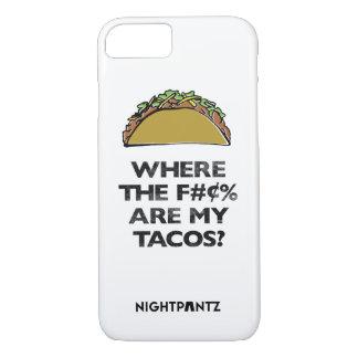 Omar Canos der S-x&Tacos Telefon-Kasten iPhone 8/7 Hülle