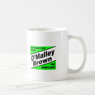 OMB Führung, stärkeres Maryland Kaffeetasse