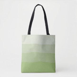 Ombre Artischocken-Tasche Tasche
