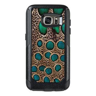 Ombre Pfau-Fasan-Federn OtterBox Samsung Galaxy S7 Hülle