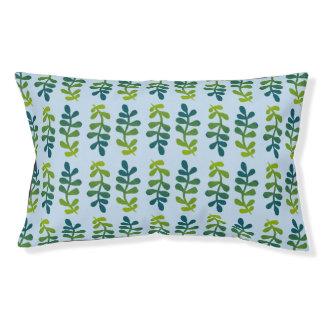 Ombre tropisches Blätter Haustierbett
