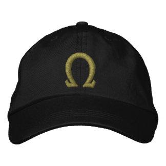 Omega Bestickte Baseballkappe