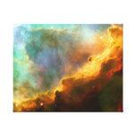 Omega-/Schwan-Nebelfleck (Hubble Teleskop) Gespannte Galeriedrucke